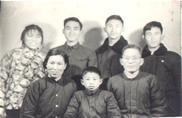 全家福――摄于1974年
